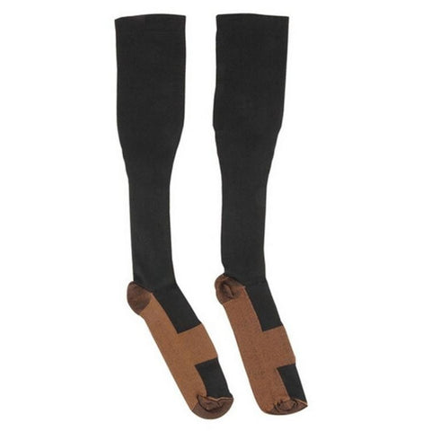 Image of Wonderful Comfortable Relief Soft Unisex Anti-Fatigue Compression Socks