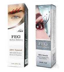 FEG eyelash enhancer - FEG eyebrow enhancer  pack