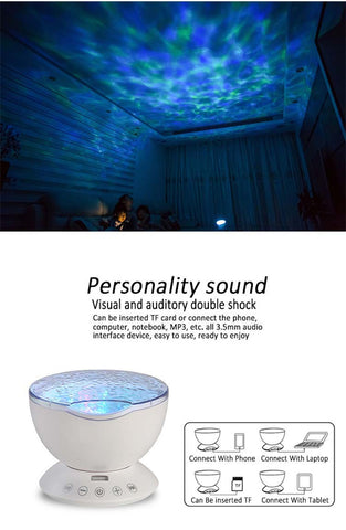 OCEAN WAVES LIGHT PROJECTOR