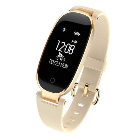 Image of Sport Smart Ladies Watch Bracelet Band Bluetooth Heart Rate Monitor Fitness Tracker For Android IOS
