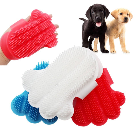 Comfortable Dogs Cats Pet Touch Brush Glove Efficient Massage and Grooming
