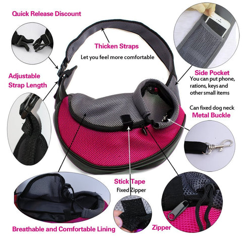 Image of Small Pet Carrier Shoulder Bag
