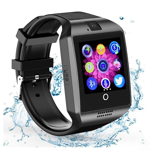 Image of Bluetooth Smartwatch Men Touch Screen Big Battery TF Sim Card Camera for Android Phone