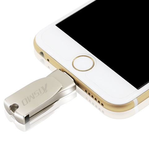 Image of USB Flash Drive Memory Stick iphone  8 X 7 6 Plus 6S 5S iPad mini Air 2
