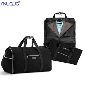 Men Organizer Travel Luggage Duffel Bag Waterproof Nylon