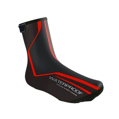 Image of Cycling Overshoes Cover Warm Reflective Waterproof Windproof