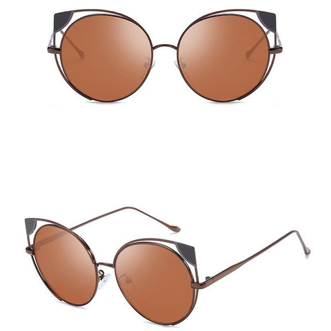 Image of Women Sunglasses Vintage Retro Eyewear Fashion Radiation Protection