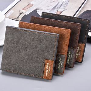 2019 Men Wallets Vintage Clutch bag Slim New Design Thin Money fold and Card Holder