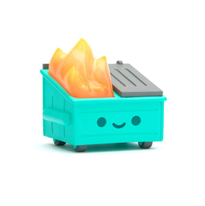 100 Soft Dumpster Fire Vinyl Figure Art 2020