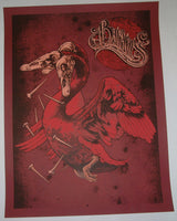 Aaron Horkey John Baizley Baroness Poster Artist Edition Red Variant