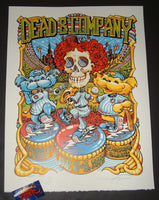 AJ Masthay Dead & Company Chicago Poster Artist Edition Wrigley Field 2019