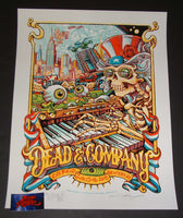 AJ Masthay Dead & Company Poster New York City 2018 Artist Edition