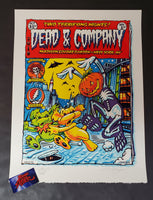 AJ Masthay Dead & Company New York Poster Artist Edition 2019