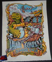 AJ Masthay Dead & Company Poster Summer Tour 2017 Wharf Rats Artist Edition S/N