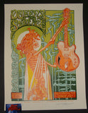 AJ Masthay Queens of the Stone Age Poster Pittsburgh 2017 Artist Edition