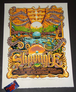 AJ Masthay Shpongle Morrison Poster Red Rocks Artist Edition 2019