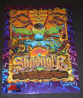 AJ Masthay Shpongle Red Rocks Poster Purple Foil Variant 2019