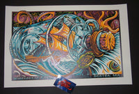 AJ Masthay Widespread Panic Poster Boston 2015 Artist Edition