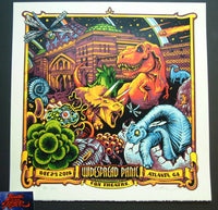 AJ Masthay Widespread Panic Poster Atlanta 2015 Artist Edition Night 1