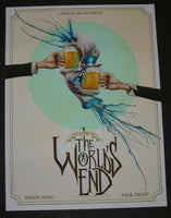 Alex Pardee The World's End Movie Print 2013 S/N