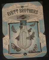 Status Serigraph Avett Brothers Poster Sandpoint Idaho 2013 Artist Edition S/N