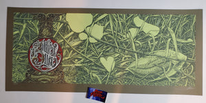 Aaron Horkey Andrew Bird Los Angeles Poster Artist Edition 2009