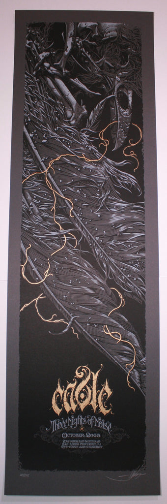 Aaron Horkey Cable New England Three Nights of Noise Poster 2008 Artist Edition