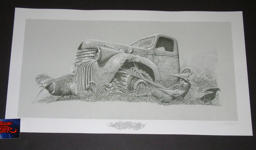 Aaron Horkey Colossus Aground Art Print Grey Variant 2018