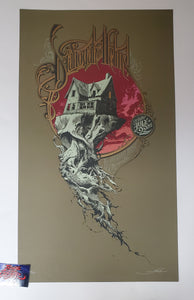 Aaron Horkey Dianogah Helms Chicago Poster Flatstock Edition 2006