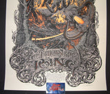 Aaron Horkey Fellowship of the Ring Movie Poster 2014 Mondo