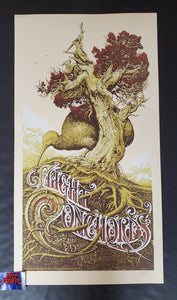 Aaron Horkey Flight of the Conchords Los Angeles Poster Cream Variant 2009