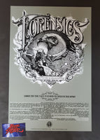Aaron Horkey Forensics North America Tour Poster Grey Promo 2004