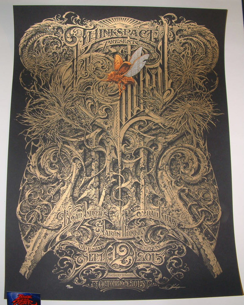 Aaron Horkey The Gilded Age Art Show Poster 2015