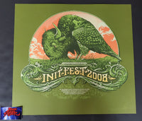 Aaron Horkey Init Fest Sioux Falls Poster Artist Edition 2008