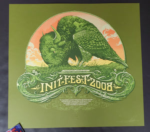 Aaron Horkey Init Fest Sioux Falls Poster Show 2008