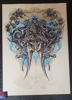 Aaron Horkey Isis Shades of the Swarm Poster East Artist Edition 2007