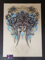 Aaron Horkey Isis Shades of the Swarm Tour Poster East Show Edition 2007