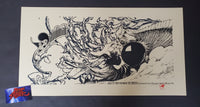 Aaron Horkey Narwhal Windom Poster 2003