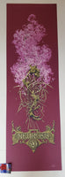 Aaron Horkey Neurosis Fall Tour Poster Purple Variant 2006