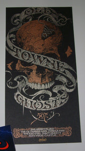 Aaron Horkey Old Towne Ghosts CD Cover Print 2011