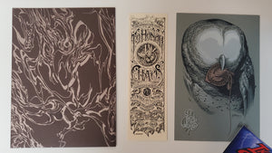 Aaron Horkey To Honor Chaos Art Print THC Club 2013