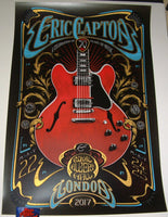 Adam Pobiak Eric Clapton Poster London 2017 Artist Edition