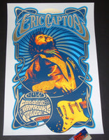 Adam Pobiak Eric Clapton Poster Cologne Hamburg London 2018 Artist Edition