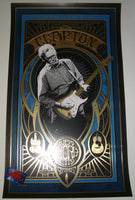 Adam Pobiak Eric Clapton Poster New York September 2017 Artist Edition