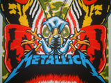 Ames Bros Metallica Poster Uniondale 2017 Artist Edition Moth