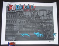 Ames Bros Foo Fighters Poster Anaheim 2015 Artist Edition
