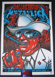 Ames Bros Metallica Dallas Poster S/N Artist Edition