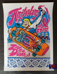 Ames Bros Pearl Jam Amsterdam Poster Artist Edition 2012