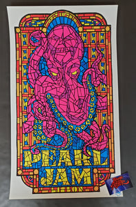 Ames Bros Pearl Jam Lisbon Portugal Poster Artist Edition 2010