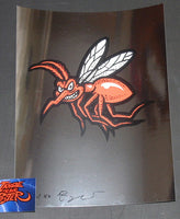 Ames Bros Pearl Jam Red Mosquito Art Print Foil Variant 2016 Artist Edition